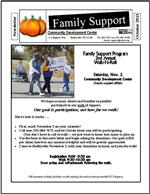 Family support Fall 2013 Newsletter
